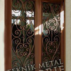 Ferforje Bina Kapısı Kod:BK-27