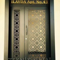 Ferforje Bina Kapısı Kod:BK-35
