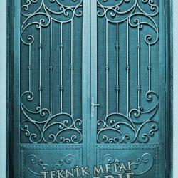 Ferforje Bina Kapısı Kod:BK-31