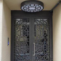 Ferforje Bina Kapısı Kod:BK-42