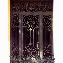 Ferforje Bina Kapısı Kod:BK-45