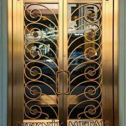 Ferforje Bina Kapısı Kod:BK-55