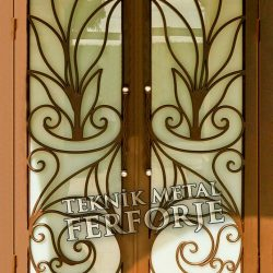 Ferforje Bina Kapısı Kod:BK-66