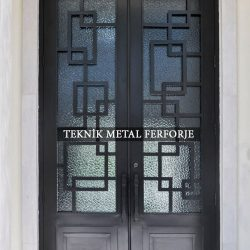 Ferforje Bina Kapısı Kod:BK-76