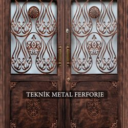 Ferforje Bina Kapısı Kod:BK-77
