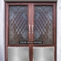 Ferforje Bina Kapısı Kod:BK-79