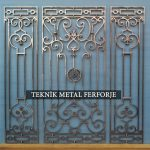 Ferforje Kapı motifi Kod:KM-65