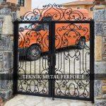 Ferforje Bahçe Kapısı Kod: BC-42
