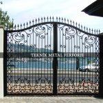 Ferforje Bahçe Kapısı Kod: BC-46