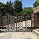 Ferforje Bahçe Kapısı Kod: BC-50