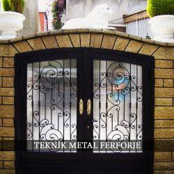 Ferforje Bahçe Kapısı Kod: BC-58