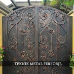 Ferforje Bahçe Kapısı Kod: BC-106