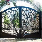 Ferforje Bahçe Kapısı Kod: BC-07