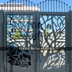 Ferforje Bahçe Kapısı Kod: BC-02