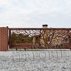 Ferforje Bahçe Kapısı Kod: BC-105