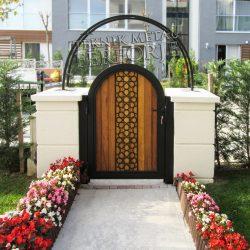 Ferforje Bahçe Kapısı Kod: BC-101