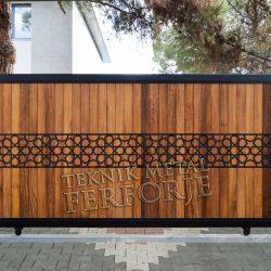 Ferforje Bahçe Kapısı Kod: BC-102