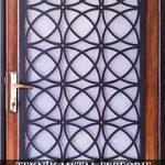 Ahşap Ferforje Kapı Kod: AK-10