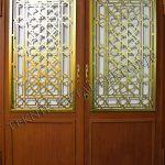 Ahşap Ferforje Kapı Kod: AK-04