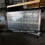 CNC KESİM METAL PARAVANLAR Kod:PR-104
