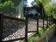 Paslanmaz çelik ve ferforje bahçe kapıları